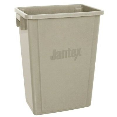Jantex Kitchen Bin Beige 56Ltr Dustbin Waste Recycle Recycling