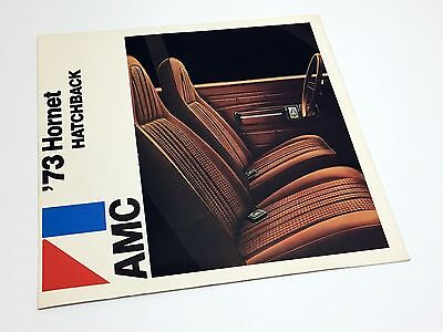 1973 American Motors AMC Hornet Hatchback Preview Brochure