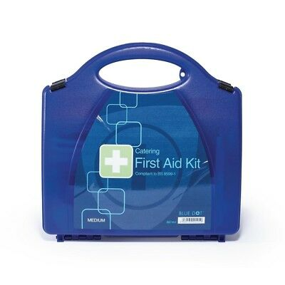 Blue Dot First Aid Kit Medium Catering Workplace Emergency Health Safety