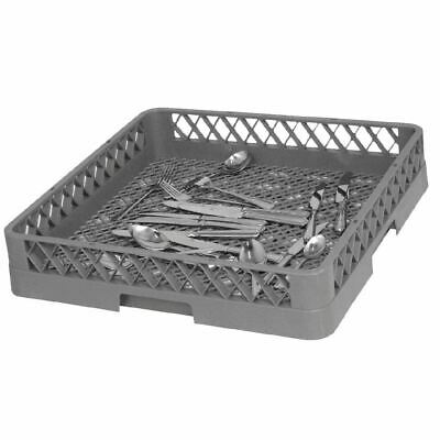 Vogue Cutlery Dishwasher Rack with Open Bottom Design Fast Drying 500x500mm