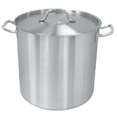 Vogue Stainless Steel Deep Stockpot 360mm Kitchenware Cookware