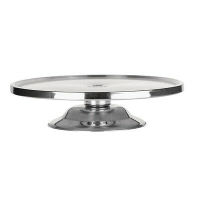 Cake Stand Stainless Steel 325 x 80mm