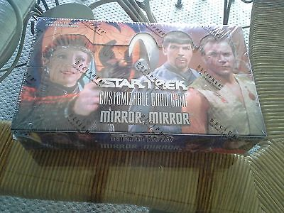 Star Trek Mirror Mirror CCG Booster Box NEW SEALED 30 Packs