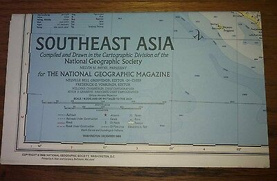 National Goegraphic Maps, Southeast Asia