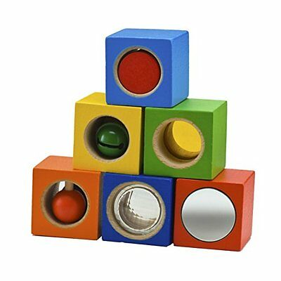 HABA Stack & Learn Blocks with Funky Effects for Ages 12 Months and Up