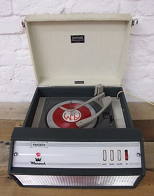 Dansette Monarch Valve record player Fully Working Refurbished