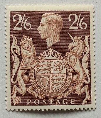 GB. 1939. 'ARMS' SERIES. SG476. 2/6d. BROWN. MNH.