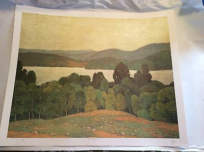 "A.J. CASSON ""LAKE KASHAGAWIGAMOG"" SIGNED PRINT LIMITED EDITION Group of Seven"