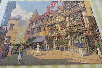Vintage Chad Valley Gwr Jigsaw Puzzle Harvard House Stratford-Upon-Avon