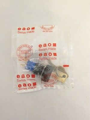New EAO  51-195.022D Keylock Switch SPST-NC SPST-NO Quick Connect 5A 250V