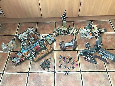 Micro Machines Military Bundle 1980s - 1990s Play Sets