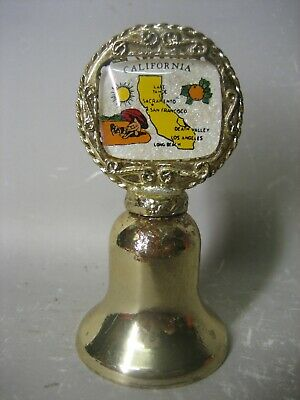 California souvenir miniature bell