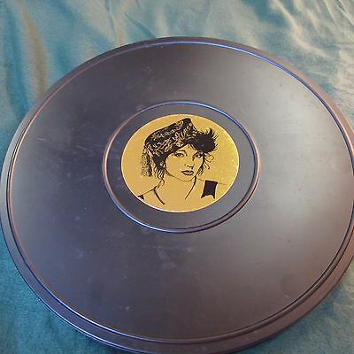 KATE BUSH Brown Film Can with vinyl lp t-shirt booklet and sticker 47/100 RARE!!