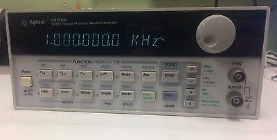 HP Agilent 33120A 15MHz Function Arbitrary Waveform Generator - Used