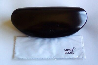 Mont Blanc Glasses Case - New In Box - With Cleaning Cloth