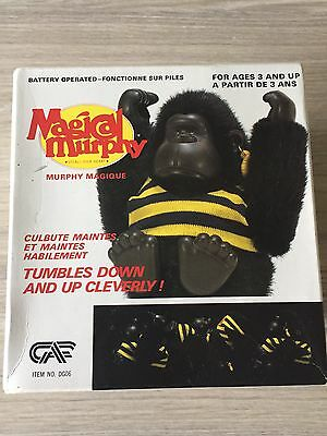Boxed Magical Murphy 1980s Monkey/Gorilla Very Rare To Be In Box