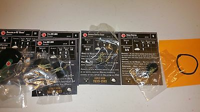 O Axis & Allies Early War Japan Oscar 2x LMG Bicycle Troop Jungle Spotter