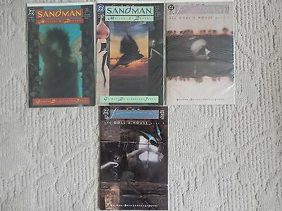 The Sandman 4 ISSUE LOT #8-11 MASTER OF DREAMS,DOLLS HOUSE NEIL Gaiman,