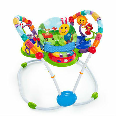 Baby Einstein Neighborhood Friends Musical 12+ Activity Jumper Seat Spinning Toy