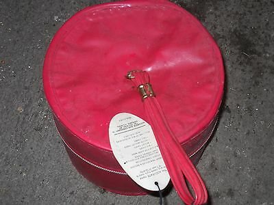 Vintage Red Accurate Box Co Wig Box