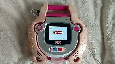 Fisher Price Kid Tough DVD Player Heavy Duty Durable Child Friendly PINK