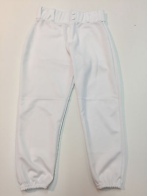 Alleson White Boy Baseball Pants Size Youth Large