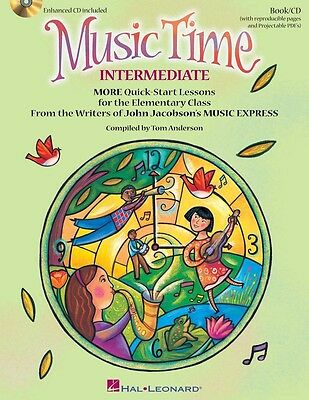 Music Time: Intermediate - Classroom Music Book with CD