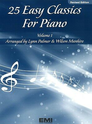 25 Easy Classics for Piano Volume 1 - Piano Music Book