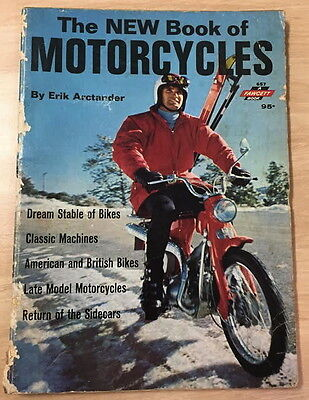 The New Book of Motorcycles By Eric Arctander 1968 no 657!