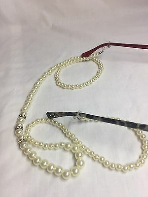 Vintage Inspired Glasses Spectacle Chain Hand Made One Of A Kind Great Gift 85cm