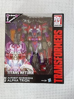 Transformers Titans Return (Hasbro) Alpha Trion&autobot Sovereign