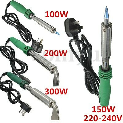 100W/150W/200W/300W 220V Electric Pencil Welding Soldering Gun Solder Iron Tool