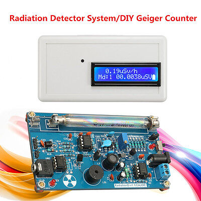 DIY Assembled Geiger Counter Kit For Nuclear Radiation Detector Beta Gamma X Ray