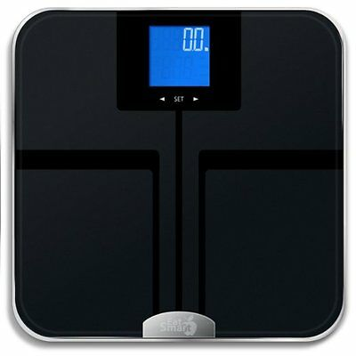 NEW Eatsmart Precision Getfit Scales Body Composition Fitness Weight Management