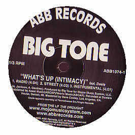 Big Tone Featuring Dwele - Whats Up - Abb Records - 2006 #197243