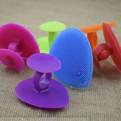 Silicone Beauty Wash Pad Face Exfoliating Blackhead Facial Cleansing Brush Soft