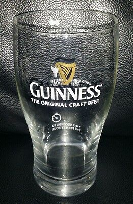 Rare Collectable Guinness 568Ml (Approx) Beer Glass Brand New Never Used