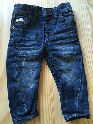 Baby Boys River Island Mini Jeans 3-6 Months NEW
