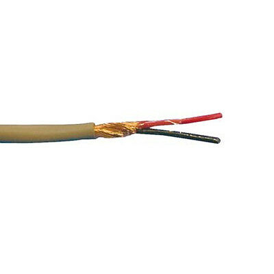 500' Alpha Wire 2256 20 AWG 2C 300V SPIRAL Communication and Control Cable
