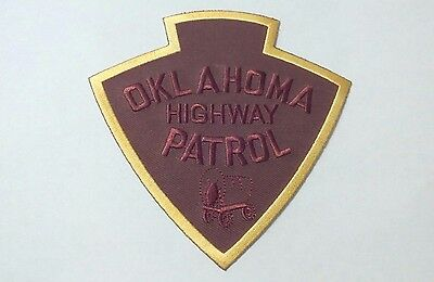 Embroidered Police Patch Oklahoma Highway Patrol NEW, USA