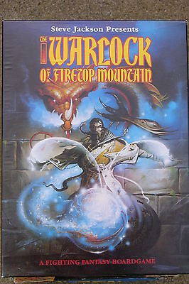 The Warlock Of Firetop Mountain, Family Boardgame,  Games Workshop