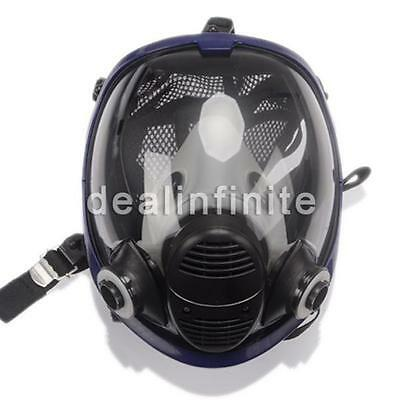 For 3M 6800 Gas Mask Full Face Facepiece Respirator Painting Spraying Similar AU