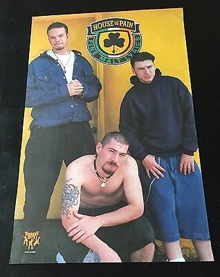 """House Of Pain 1992 Debut Rare Vintage Music Store Promo Poster 24""""x37"""" Vg"""