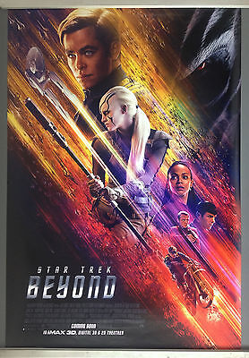 Cinema Poster: STAR TREK BEYOND 2016 (One Sheet) Chris Pine Anton Yelchin