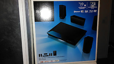 Sony BDVE3100 3D Blu-ray Disc/DVD Wireless Bluetooth Home Theatre System, Sealed
