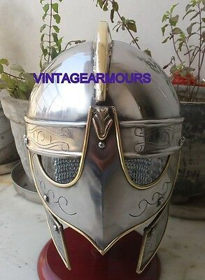 Valasgrade Viking Armour Helmet Medieval Spartan Ancient Knight Helmet