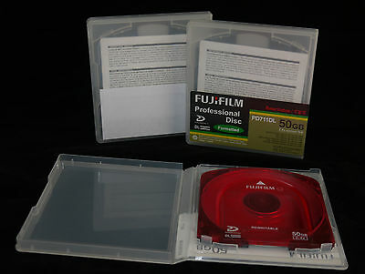 Fuji PD711 DL XDCAM Disc - 50Gb - Cleaned & Recycled for Re-use.