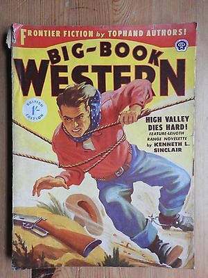 Big-Book Western No 15 western pulp magazine UK Thorpe & Porter (1951) VG