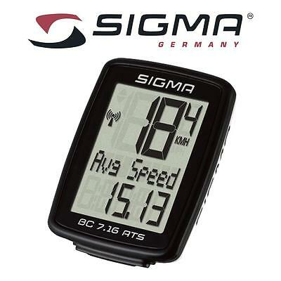SIGMA BC 7.16 ATS - 7 Function BICYCLE BIKE Wireless COMPUTER Speedometer  BC716