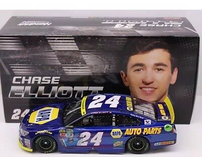 Chase Elliott 2016 #24 NAPA Chase For The Cup 1:24 Scale Autographed NASCAR